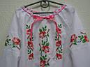 Вышиванка с кружевом для девочки , фото 2