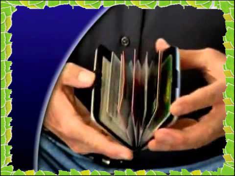 Кошелек- визитница Aluma Wallet алюминевый