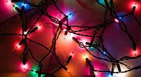 Гирлянда на елку 160 лампочек