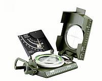 Инженерный компас TSC-069, универсальный, компактный, в металлическом корпусе, пузырьковый уровень