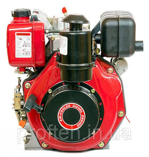 Двигатель дизельный WEIMA WM178FЕ (6.0л.с., шлицы Ø25мм, L=33мм, эл.старт)