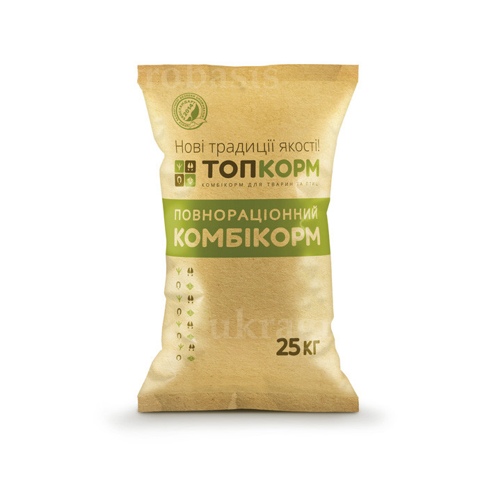 ТопКорм ПКс-5г комбикорм для свиней от 116 до 175 дней (Финиш)
