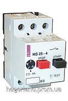 Автомат захисту двигуна ETI MS25-2,5 (4600070)