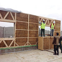 Биодом из экологически чистых материалов изготовливается в заводских условиях