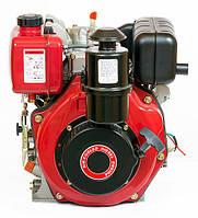 Двигатель дизельный WEIMA WM178FES (6,0 л.с., шпонка Ø25мм, L=60 эл.стартер,  редуктор)