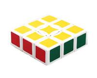 Кубик рубика 1х3х3 БЕЛЫЙ SKU0000577