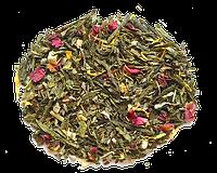 Зеленый чай с мятой и лепестками роз Мятная Фантазия