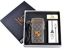 Зажигалка PORSCHE Электроимпульсная, USB №4759