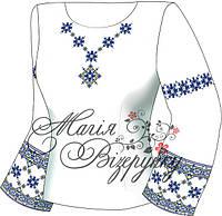 Заготовка женской вышиванки / блузки Н - 114