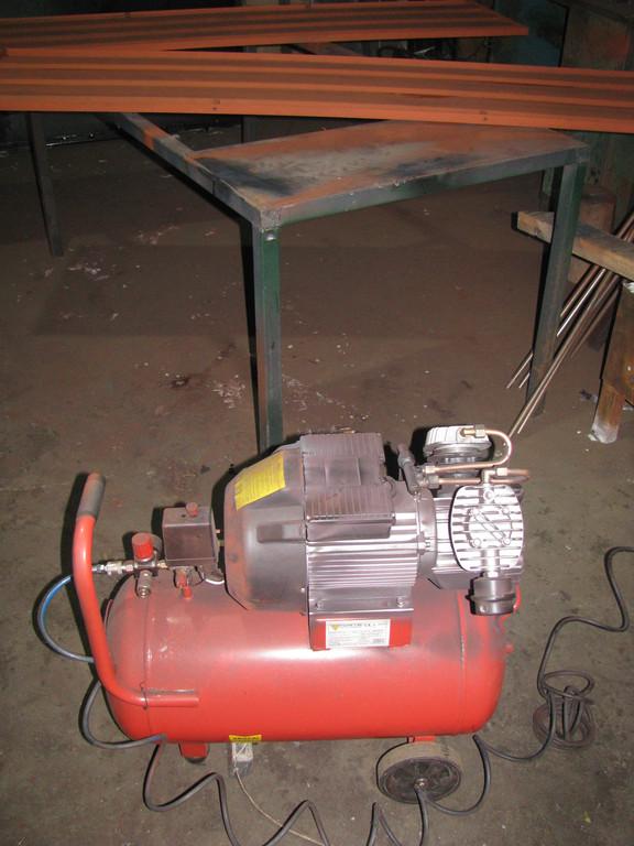 Оборудование: компрессор