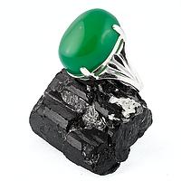 Агат, серебро 925, кольцо, 212КА