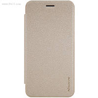 Чехол Nillkin Sparkle Leather Case для Huawei Y5 II Shampaign Gold