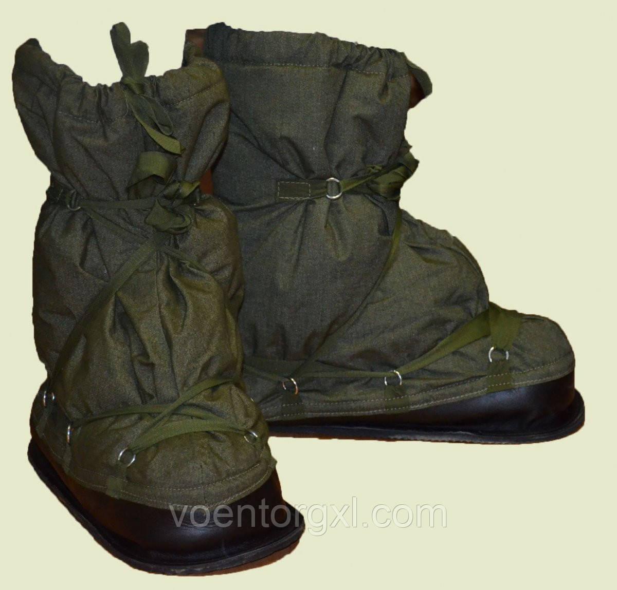 Арктичні бахіли, зовнішній утеплювач взуття. НОВІ. Великобританія, оригінал.
