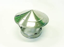 Грибок для дымохода из нержавеющей стали d 110мм s 0,5мм