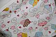 Евро пеленка на липучках с шапочкой Half, кекс 3-6 мес., фото 4