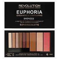 MUR Euphoria Palette - Палетка теней и контурирующие средства (Bronzed)