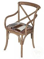 Накидка на стулья из овчины
