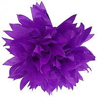 Помпон фиолетовый 35 см свадебный