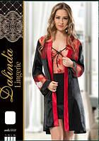 DALINDA Халат+рубашка шелк 5501