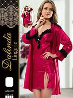 DALINDA Халат+рубашка шелк 5513