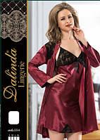 DALINDA Халат+рубашка шелк 5514