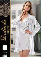 DALINDA Халат+рубашка шелк 5521