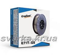 Проволока сварочная порошковая E71T-GS ф 0.8 мм (1 кг)