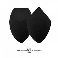 MUR Ace Hard - Бьюти-блендер для лица, черный