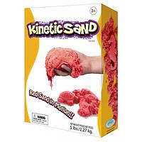 Кинетический песок красный 2,3 кг для лепки