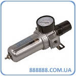 Фильтр воздушный с редуктором и манометром  1/2' 81-422 Miol
