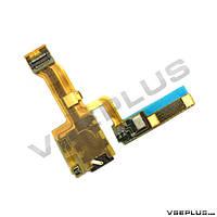 Шлейф Sony C6502 Xperia ZL / C6503 Xperia ZL / C6506 Xperia ZL, с микрофоном, с разъемом на наушники
