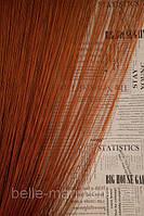 Однотонные шторы-нити №10 (коричневый)