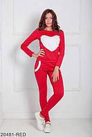 Женский спортивный костюм Williams 20481-RED