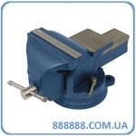 Тиски слесарные поворотные синие  100мм 36-200 Miol