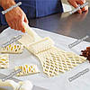 Фигурный роликовый резак для пирогов. Роликовый нож - Сетка