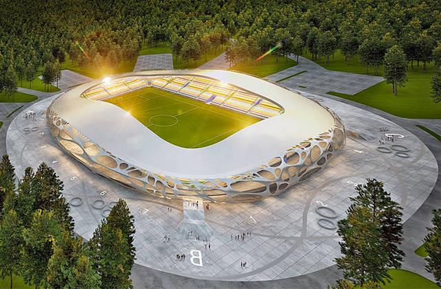 """Борисов, Стадион """"Борисов-Арена"""""""