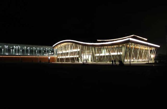 Альпика-Сервис, Железнодорожная станция