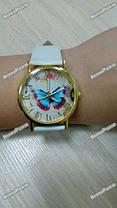 Женские часы с бабочкой белого цвета, фото 3
