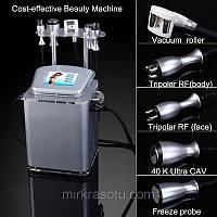 Аппарат Slim-4 LPG аппарат + Кавитация, + Триполяр РФ лифтинг + Криотерапия