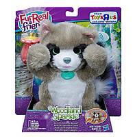 Интерактивный енот  Woodland Sparkle Rocco, My Peek-a-Boo Raccoon FurReal Friends, hasbro