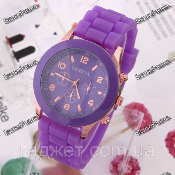 Женские часы Geneva Фиолетовые