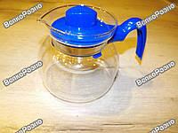 Чайник из жаропрочного стекла с крышкой.