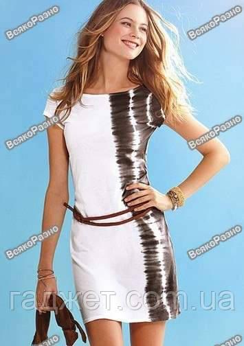 Женское короткое летнее платье