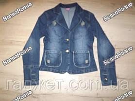 Женский джинсовый пиджак / Курточка джинсовая, фото 2