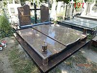 Памятник двойной под захоронение