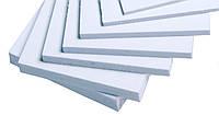 Листовой вспененный ПВХ PF (мягкий пластик для рекламных конструкций) (Плотность 0.5 г/см3)