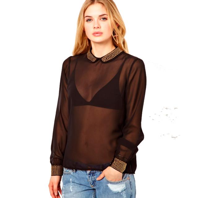 Какое белье надевают под прозрачные блузки