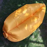 Намак - надувной гамак желтый