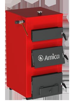 Многотопливный твердотопливный котел Amica Solid H 30, фото 2