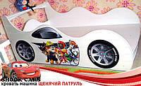 Кровать машина Щенячий Патруль - только для Вас на кровать-машина.com.ua, нарисована с любовью!